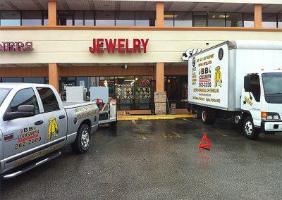 Commercial Safe Installation