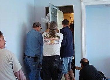 Residential Vault Door Installation