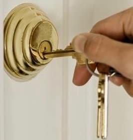 deadbolt with keys